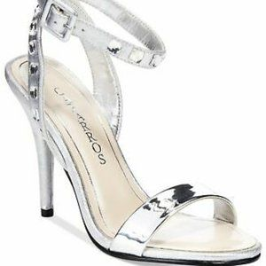 Caparros Cassidy Jeweled Ankle Strap Sandals
